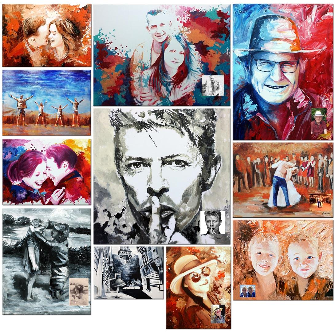 schilderij laten maken